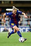 UEFA Women's Champions League 2017/2018.<br /> Quarter Finals.<br /> FC Barcelona vs Olympique Lyonnais: 0-1.<br /> Toni Duggan.