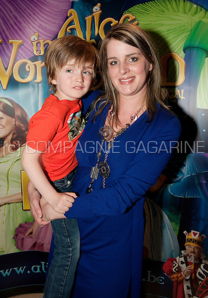 Red carpet at the Alice In Wonderland musical première of K3 in Antwerp (Belgium, 10/04/2011)