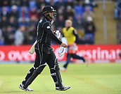 Jun 6th, The SSE SWALEC, Cardiff, Wales; ICC Champions Trophy; England versus New Zealand;  Ross Taylor of New Zealand after being dismissed