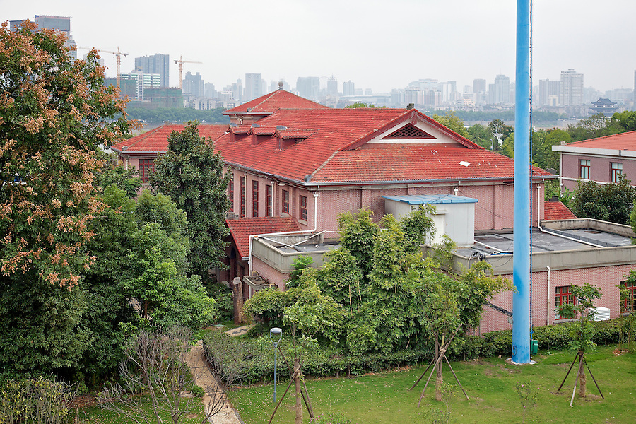 Building From The 1930's Possibly On The Site Of HBM Consul's Residence, Juzhou Island, Changsha.