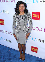 HOLLYWOOD, LOS ANGELES, CA, USA - JUNE 21: Taraji P. Henson at the 2014 Hollywood Bowl Opening Night And Hall Of Fame Inductions held at the Hollywood Bowl on June 21, 2014 in Hollywood, Los Angeles, California, United States. (Photo by Xavier Collin/Celebrity Monitor)