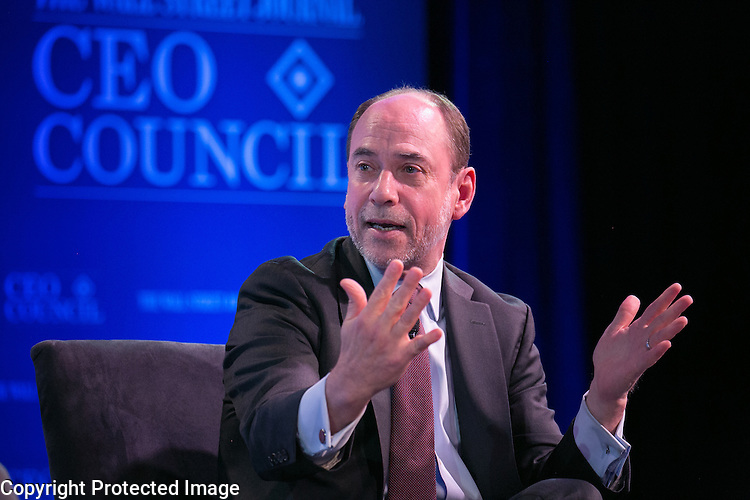 Wall Street Journal CEO Council on Tuesday November 17th, 2015. Photo by Paul Morse.