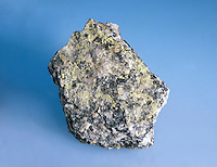 AUTUNITE -HYDRATED CALCIUM URANYL PHOSPHATE<br /> A Common Radioative Mineral<br /> Ca(UO2)2(PO4)2&middot;10-12H2O is a secondary mineral associated with uranite. It has a tetragonal -ditetragonal dipyramidal christal system.