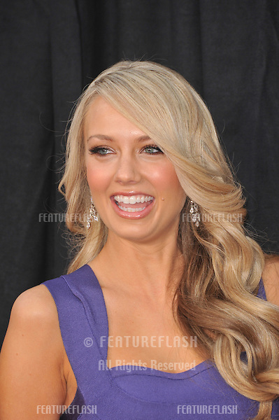 "Melissa Ordway at the world premiere of her new movie ""The Last Song"" at the Arclight Theatre, Hollywood..March 25, 2010  Los Angeles, CA.Picture: Paul Smith / Featureflash"