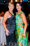 Olivia Wall and Ann Kahraman KFW Irish Fashion Industry Awards at the Europe Hotel, Killarney on Friday night.