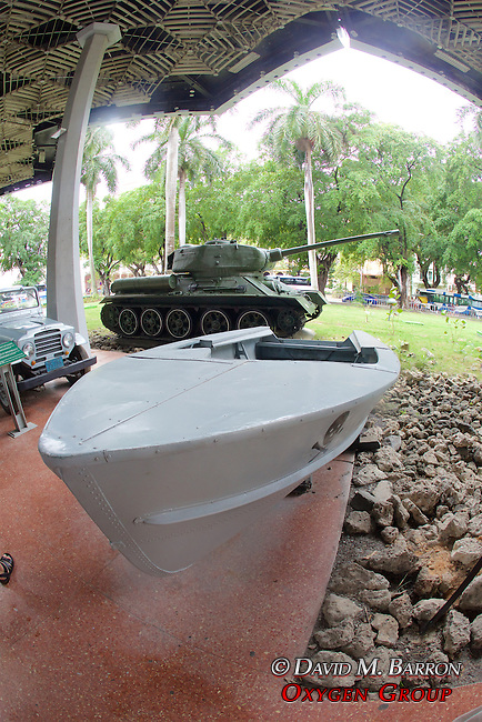 Pirate Boat & T34 Tank, Granma Memorial