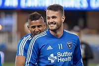 San Jose, CA - Saturday October 06, 2018: Vako prior to a Major League Soccer (MLS) match between the San Jose Earthquakes and the New York Red Bulls at Avaya Stadium.