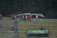 MEDELLÍN- COLOMBIA, 29-07-2018.Hinchas del Independiente Medellín.Acción de juego entre los equipos  Independiente Medellín y el Boyacá Chicó durante partido por la fecha 2 de la Liga Águila II 2018 jugado en el estadio Atanasio Girardot de la ciudad de Medellín. / Fans of Independiente Medellin.Action game between Independiente Medellin and Boyaca Chico  during the match for the date 2 of the Liga Aguila II 2018 played at Atanasio Girardot Stadium in Medellin  city. Photo: VizzorImage / Leon Monsalve/ Contribuidor