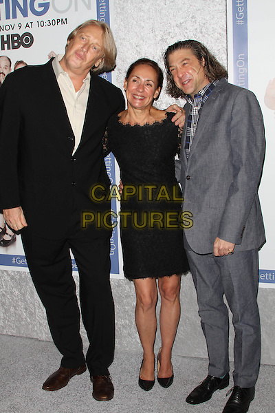 28 October 2014 - Hollywood, California - Mark Olsen, Laurie Metcalf and Will Scheffer. HBO's comedy Series &quot;Getting On&quot; Season 2 Los Angeles Premiere held at Avalon Hollywood.  <br /> CAP/ADM<br /> &copy;AdMedia/Capital Pictures