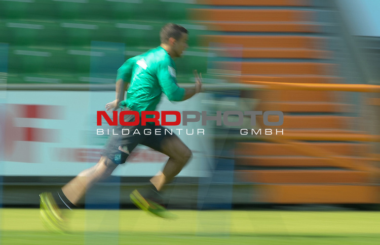 27.06.2014, Weserstadion, Bremen, GER, 1.FBL, Training Werder Bremen, im Bild Franco Di Santo (Bremen #9)<br /> <br /> Foto &copy; nordphoto / Frisch *** Local Caption ***