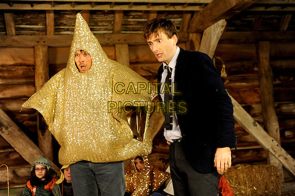 Marc Wootton & David Tennant.in Nativity 2 (2012) .*Filmstill - Editorial Use Only*.CAP/NFS.Supplied by Capital Pictures.