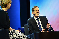 Washington, DC - March 5, 2018: Isaac Herzog, Israeli Opposition Leader, speaks during the 2018 American Israel Public Affairs Committee (AIPAC) Public Policy Conference at the Washington Convention Center March 5, 2018.  (Photo by Don Baxter/Media Images International)