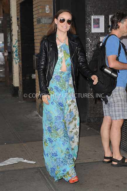 WWW.ACEPIXS.COM<br /> June 9, 2015 New York City<br /> <br /> Olivia Wilde attending a screening for 'The WolfPack' at The Sunshine Landmark Cinema on June 9, 2015 in New York City.<br /> <br /> Please byline: Kristin Callahan/ACE<br /> Tel: (646) 769 0430<br /> e-mail: info@acepixs.com<br /> web: http://www.acepixs.com