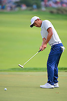 C.T. Pan (TAI) watches his putt on 2 during round 3 of the Honda Classic, PGA National, Palm Beach Gardens, West Palm Beach, Florida, USA. 2/25/2017.<br /> Picture: Golffile | Ken Murray<br /> <br /> <br /> All photo usage must carry mandatory copyright credit (&copy; Golffile | Ken Murray)