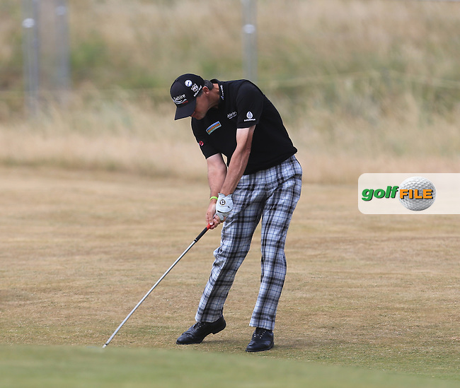 Paul LAWRIE (SCO) during round 4 of  The 142th Open Championship Muirfield, Gullane, East Lothian, Scotland 21/7/2013<br /> Picture Fran Caffrey www.golffile.ie: