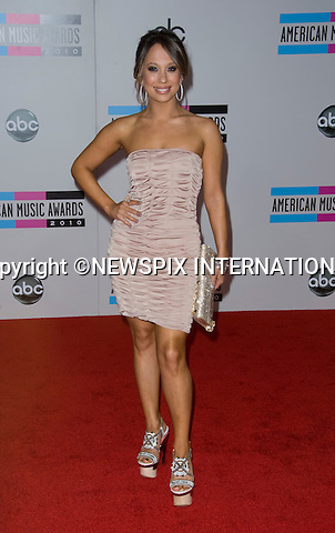 """CHERYL BURKE.American Music Awards 2010,Nokia Rheatre, Los Angeles_21/10/2010.Mandatory Photo Credit: ©Dias/Newspix International..**ALL FEES PAYABLE TO: """"NEWSPIX INTERNATIONAL""""**..PHOTO CREDIT MANDATORY!!: NEWSPIX INTERNATIONAL(Failure to credit will incur a surcharge of 100% of reproduction fees)..IMMEDIATE CONFIRMATION OF USAGE REQUIRED:.Newspix International, 31 Chinnery Hill, Bishop's Stortford, ENGLAND CM23 3PS.Tel:+441279 324672  ; Fax: +441279656877.Mobile:  0777568 1153.e-mail: info@newspixinternational.co.uk"""