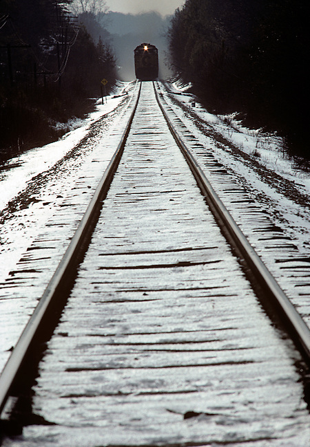 Train Approaching, Winter
