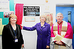 Mary Hanafin opens Scoil Oilibheir Naofa. pictured here with School Principal Mary Carpenter and Bishop Smith...(Photo credit should read Jenny Matthews www.newsfile.ie)....This Picture has been sent you under the condtions enclosed by:.Newsfile Ltd..The Studio,.Millmount Abbey,.Drogheda,.Co Meath..Ireland..Tel: +353(0)41-9871240.Fax: +353(0)41-9871260.GSM: +353(0)86-2500958.email: pictures@newsfile.ie.www.newsfile.ie.