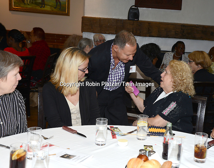 Stacy Charles and luncheon guests attends the Big Apple Knitters Guild Luncheon on September 20, 2014 at Maloney &amp; Porcelli in New York City.<br /> <br /> photo by Robin Platzer/Twin Images<br />  <br /> phone number 212-935-0770