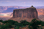 Red sandstone Butte and Mesa, Island in the Sky District, Canyonlands National Park, UTAH