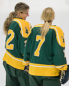 Christine Lambert (Clarkson - 22), Gabrielle Kosziwka (Clarkson - 7) - The Northeastern University Huskies defeated the visiting Clarkson University Golden Knights 5-2 on Thursday, January 5, 2012, at Matthews Arena in Boston, Massachusetts.