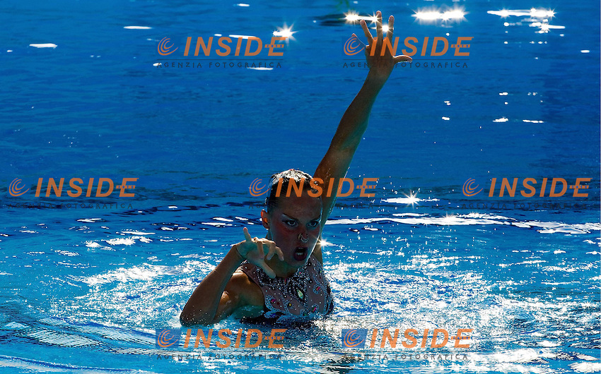 Roma 22nd July 2009 - 13th Fina World Championships From 17th to 2nd August 2009..Solo Free..ISAAC Chloé   CAN..photo: Roma2009.com/InsideFoto/SeaSee.com