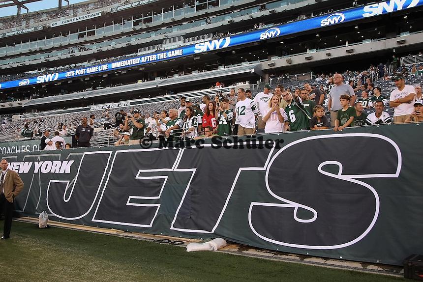Heimspiel fuer die New York Jets im MetLife Stadium
