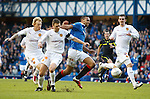 Kyle Bartley fouled on the edge of the box, the resulting free-kick floated in to Jelavic to score