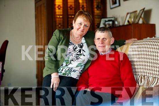 Mary and James Coffey, Glencar.