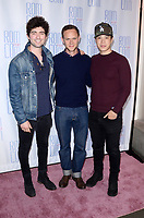 """LOS ANGELES - JUN 21:  Ian Nelson, Joseph Cross, Hayden Szeto at the """"Summer Night"""" Screening at Rom Com Fest 2019 at the Downtown Independent Theater on June 21, 2019 in Los Angeles, CA"""