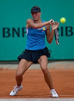 Yanina Wickmayer (BEL) (16) against Sandra Zahlavova (CZE) in the first round of the women's singles. Yanina Wickmayer beat Sandra Zahlavova 6-1 6-1..Tennis - French Open - Day 3 - Tue 25 May 2010 - Roland Garros - Paris - France..© FREY - AMN Images, 1st Floor, Barry House, 20-22 Worple Road, London. SW19 4DH - Tel: +44 (0) 208 947 0117 - contact@advantagemedianet.com - www.photoshelter.com/c/amnimages
