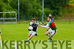 Conor Keane Legion takes on Donal Maher  Kilcummin during their SFC game in Lewis Road  Killarney Saturday evening