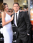 Rachel Nichols & Channing Tatum at The Paramount Pictures' G.I. JOE: THE RISE OF COBRA Los Angeles Special Screening held at The Grauman's Chinese Theatre in Hollywood, California on August 06,2009                                                                   Copyright 2009 DVS / RockinExposures