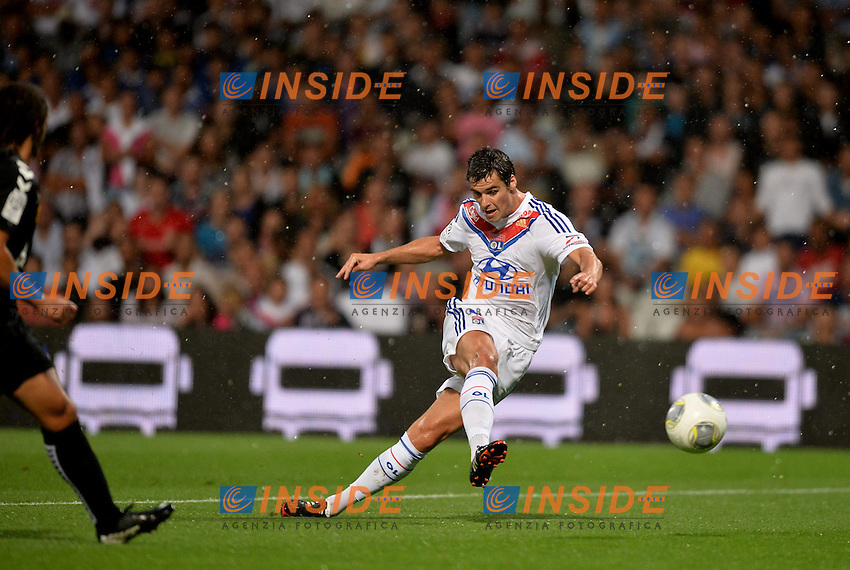 Yoann Gourcuff (lyo) <br /> Football Calcio 2013/2014<br /> Ligue 1 Francia<br /> Foto Panoramic / Insidefoto <br /> ITALY ONLY