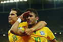Neymar (BRA), <br /> JUNE 12, 2014 - Football /Soccer : <br /> 2014 FIFA World Cup Brazil <br /> Group Match -Group A- <br /> between Brazil 3-1 Croatia <br /> at Arena de Sao Paulo, Sao Paulo, Brazil. <br /> (Photo by YUTAKA/AFLO SPORT)