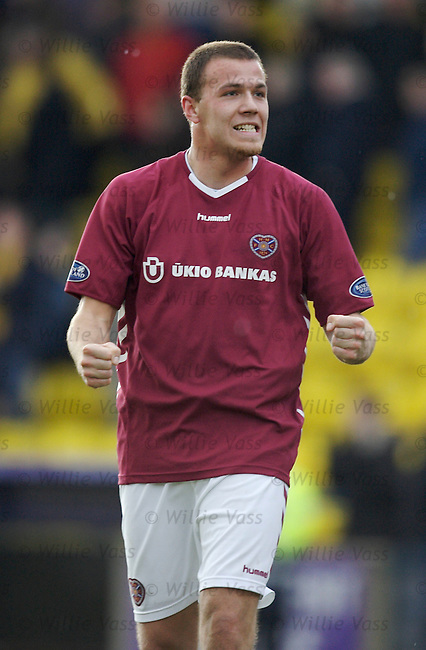 Roman Bednar, Hearts.stock season 2005-2006.pic willie vass