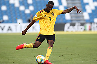 Isaac Mbenza of Belgium  in action<br /> Reggio Emilia 16-06-2019 Stadio Città del Tricolore <br /> Football UEFA Under 21 Championship Italy 2019<br /> Group Stage - Final Tournament Group A<br /> Poland - Belgium<br /> Photo Cesare Purini / Insidefoto
