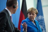 2016/03/08 Politik | Ban Ki-moon bei BK Angela Merkel