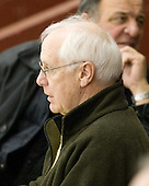 Jack Parker (BU - Head Coach) and Dick Umile (UNH - Head Coach) attended part of the game. - The Boston College Eagles defeated the Merrimack College Warriors 7-0 on Tuesday, February 23, 2010 at Conte Forum in Chestnut Hill, Massachusetts.