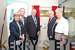 Jimmy Deenihan TD, Minister for Arts, Heritage and the Gaeltacht  official opening the Tralee Community Nursing Unit on Friday. Pictured l-r: Mary Shea (acting director of nursing), Mike Fitzgerald (Area Manager, HSE South), John Rohan, Jimmy Deenihan TD and Mairead Fernane.