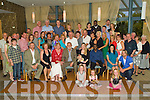 Happy Birthday - Joe O'Sullivan from Ballyheigue, seated centre having a wonderful time with family and friends at his 70th birthday party held in The Ballyroe Heights Hotel on Saturday night. .................................................................................................................................................................................................................. ............