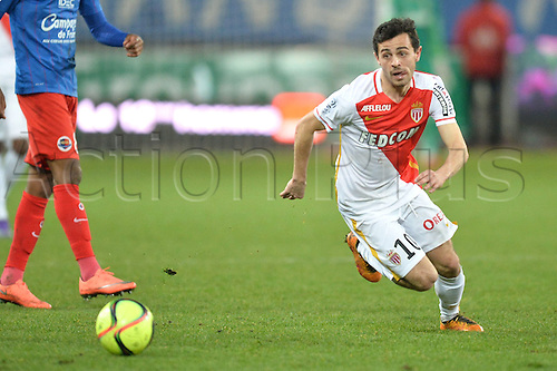 04.03.2016. Caen, France. French League 1 football. Caen versus Monaco.  BERNARDO SILVA (mon)