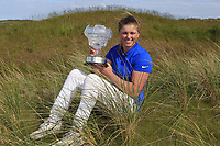 Hannah McCook (SCO) winner of the Irish Women's Open Stroke Play Championship 2018 on Sunday 13th May 2018.<br />