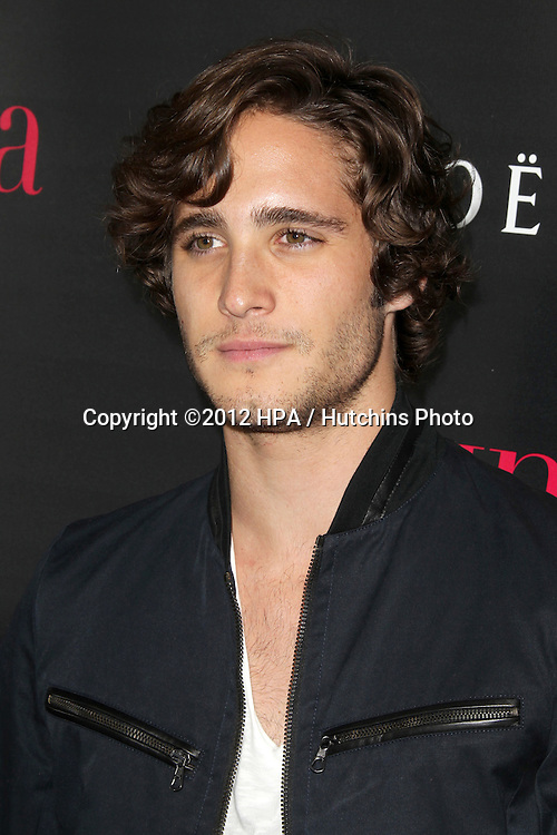 """LOS ANGELES - OCT 4:  Diego Boneta arrives at the """"Latinos In Hollywood"""" Event at The London West Hollywood on October 4, 2012 in West Hollywood, CA"""