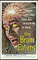BNPS.co.uk (01202 558833)<br /> Pic: Bonhams/BNPS<br /> <br /> The Brain Eaters, 1958.<br /> <br /> A wacky collection of sci-fi and horror genre B movie posters from the 'Golden Age of Hollywood' have emerged for sale. <br /> <br /> The 15-strong assortment of obscure advertisements spans from 1933 until 1966 and are worth up to &pound;5,000 each. <br /> <br /> B movies were characterised by their low-budget and extravagant posters, which were often better received than the actual film. <br /> <br /> The most expensive is an 83ins by 39ins poster for the 1933 film Ghoul, which is expected to fetch &pound;5,000. <br /> <br /> The posters have been consigned to auction by a selection of UK sellers to auctioneer Bonhams.