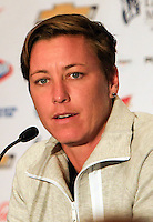 New York, NY. - Wednesday, May 27, 2015: The USA Women's 2015 World Cup team Media Day, at the Marriott Marquis Hotel, in New York City.