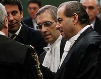 Processo  contro la presunta compravendita dei senatori <br /> ghedini di pietro