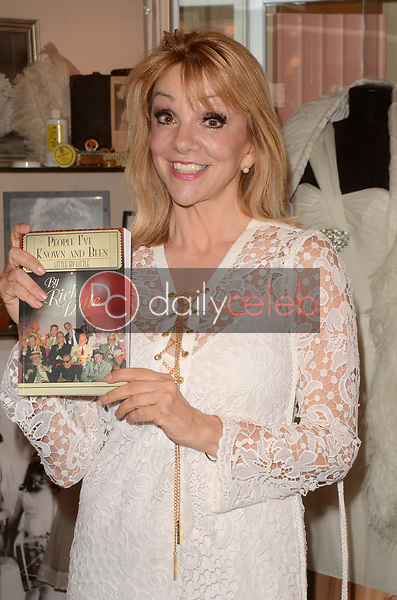 """Teresa Ganzel<br /> at Rich Little's signing of  """"People I've Known and Been: Little by Little,"""" honoring George Burns, Johnny Carson and Dean Martin with a display at the Hollywood Museum of the props he has used to impersonate them over the years, The Hollywood Museum, Hollywood, CA 06-01-18<br /> David Edwards/DailyCeleb.com 818-249-4998"""
