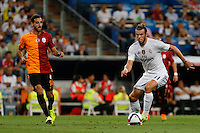Real Madrid´s Welsh forward Gareth Bale and Galatasaray Jose Rodriguez