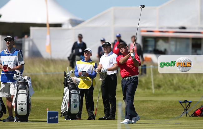 Hennie Otto (RSA) in contention at -5 during Round Two of the 2015 Nordea Masters at the PGA Sweden National, Bara, Malmo, Sweden. 05/06/2015. Picture David Lloyd   www.golffile.ie